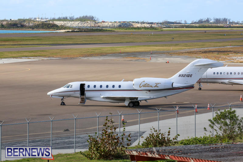 Cessna Citation X N921QS Bermuda, December 10 2016-1