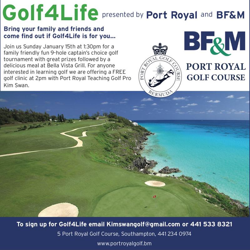 Golf4Life Bermuda December 2016