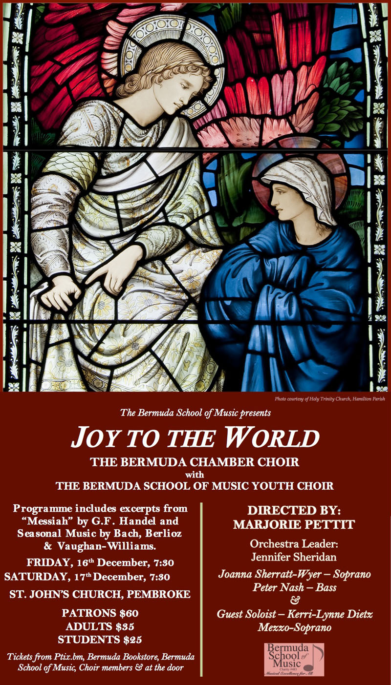 Joy to the World Bermuda Dec 13 2016