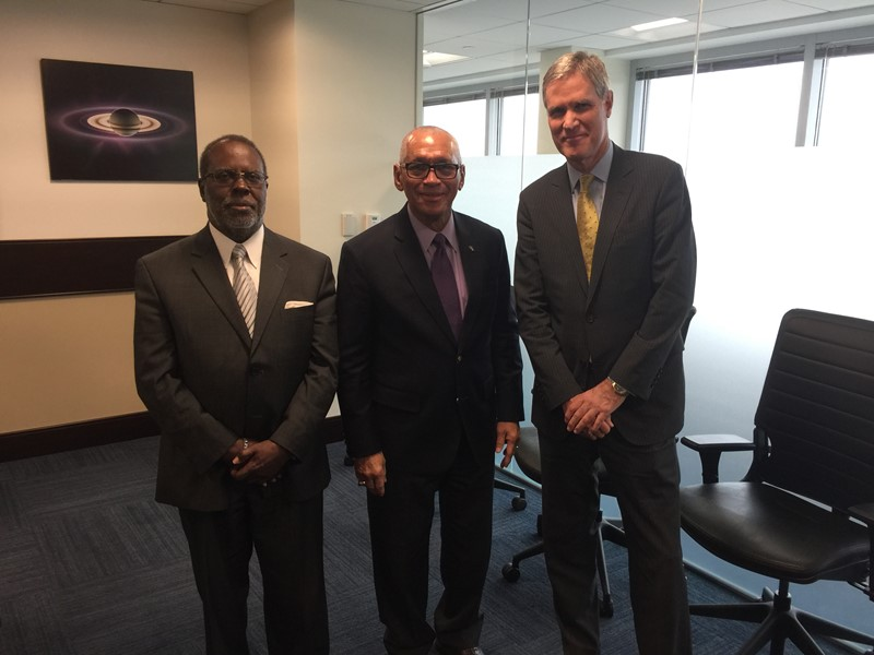 Minister Gibbons visits NASA