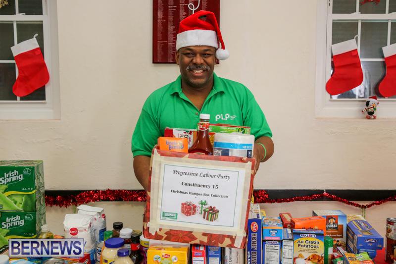 PLP Constituency 15 Christmas Hamper Drive Bermuda, December 17 2016-4