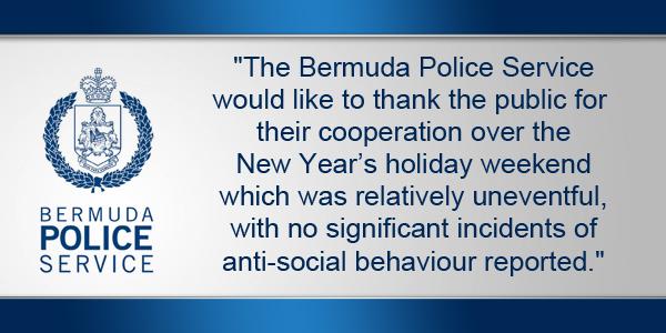 Bermuda Police Service TC January 3 2016