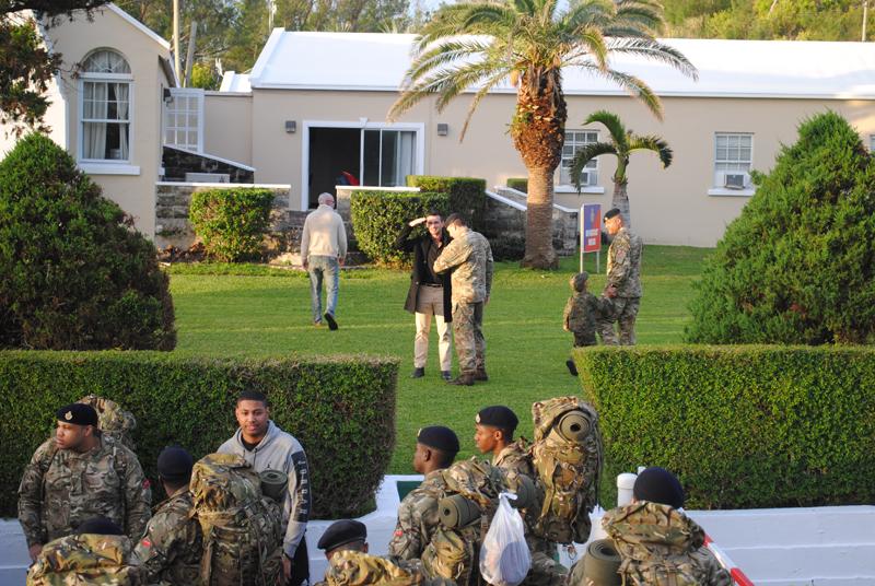 Bermuda Regiment January 15 2017 (2)