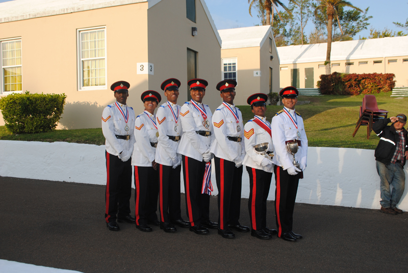 Bermuda Regiment January 29 2017 (1)