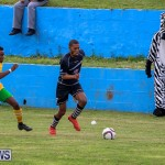 Football Devonshire Cougars vs PHC Bermuda, January 1 2017-21