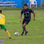 Football Devonshire Cougars vs PHC Bermuda, January 1 2017-37
