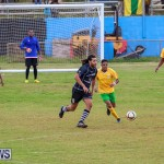 Football Devonshire Cougars vs PHC Bermuda, January 1 2017-42