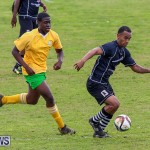 Football Devonshire Cougars vs PHC Bermuda, January 1 2017-50
