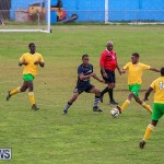 Football Devonshire Cougars vs PHC Bermuda, January 1 2017-51