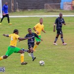 Football Devonshire Cougars vs PHC Bermuda, January 1 2017-52