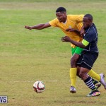 Football Devonshire Cougars vs PHC Bermuda, January 1 2017-54