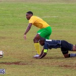 Football Devonshire Cougars vs PHC Bermuda, January 1 2017-55