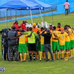 Football Devonshire Cougars vs PHC Bermuda, January 1 2017-6