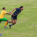 Football Devonshire Cougars vs PHC Bermuda, January 1 2017-60