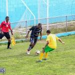 Football Devonshire Cougars vs PHC Bermuda, January 1 2017-64