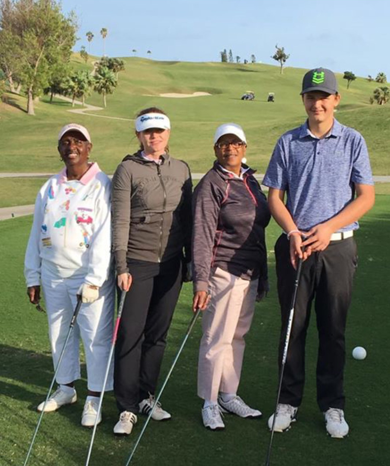 1st Place Team – Kenny Leseur Jr. and EWGA Ladies (Brenda Burchall, Gina Newson & Judy Lindo)