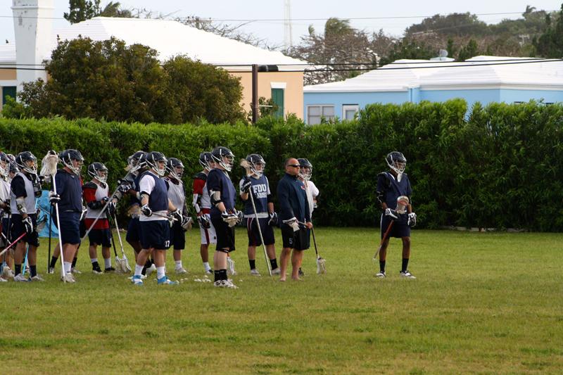 Lacrosse FDU train Bermuda Jan 6 2017