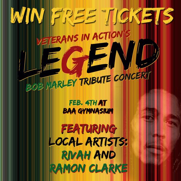 Legend Bob Marley Tribute 600x600