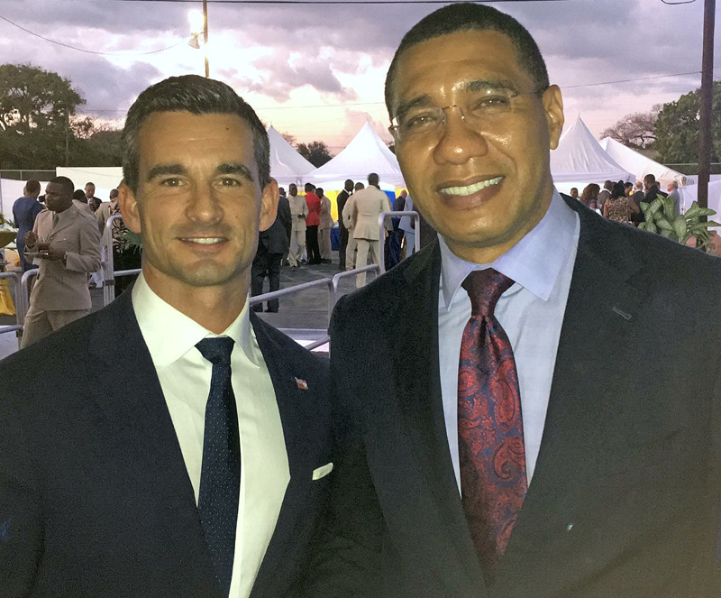 Photo 1 - Prime Minister Andrew Holness
