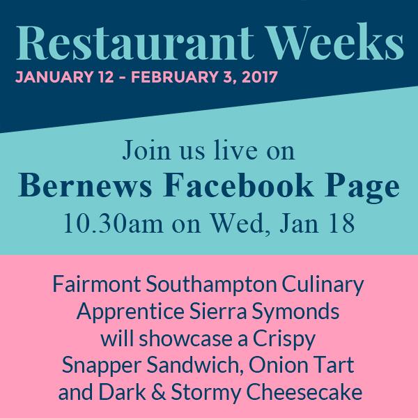 Restaurant Weeks Sierra Symonds IG Bermuda Jan 17 2017