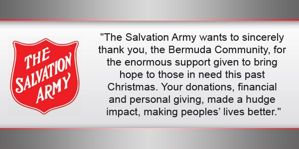 Salvation Army Bermuda TC January 16 2017