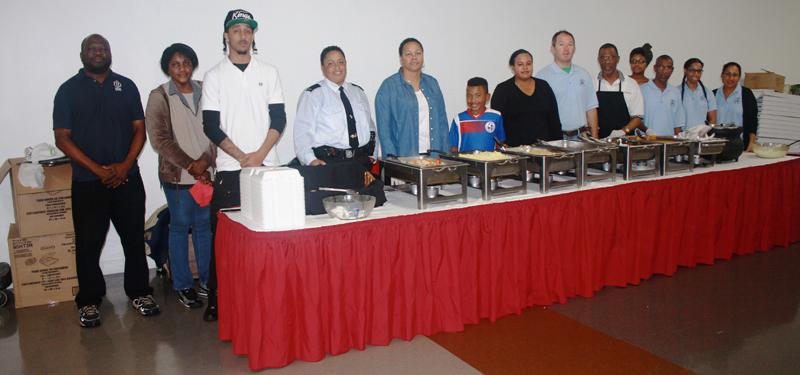 Southside Community Dinner Volunteers Bermuda Jan 13 2017