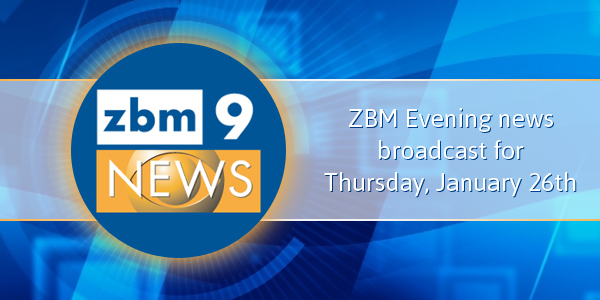 zbm 9 news Bermuda January 26 2017