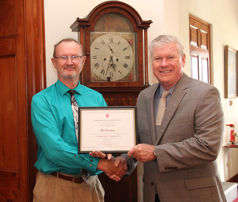 Alan Boardman and Ted Staunton Bermuda Feb 6 2017