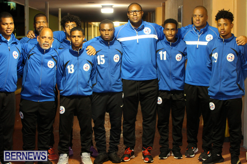 Bermuda U20 Football Team Feb 2017