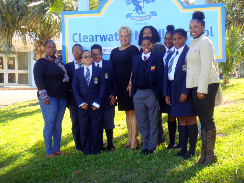 Clearwater Executive and Students Bermuda Feb 1 2017