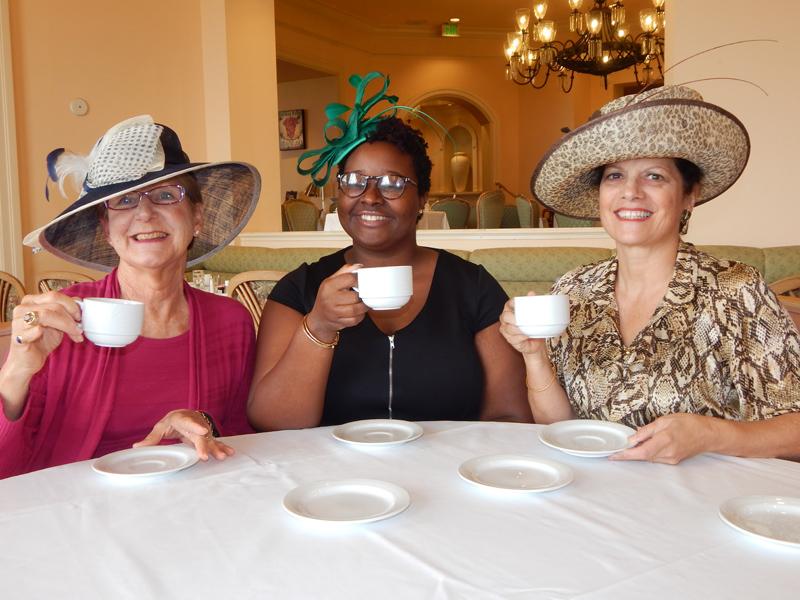 Committee Tea Bermuda Feb 9 2017