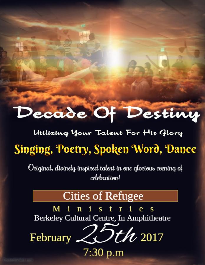 Decade of Destiny Bermuda February 2017