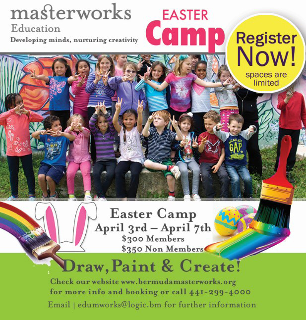 Easter camp Bermuda February 2017