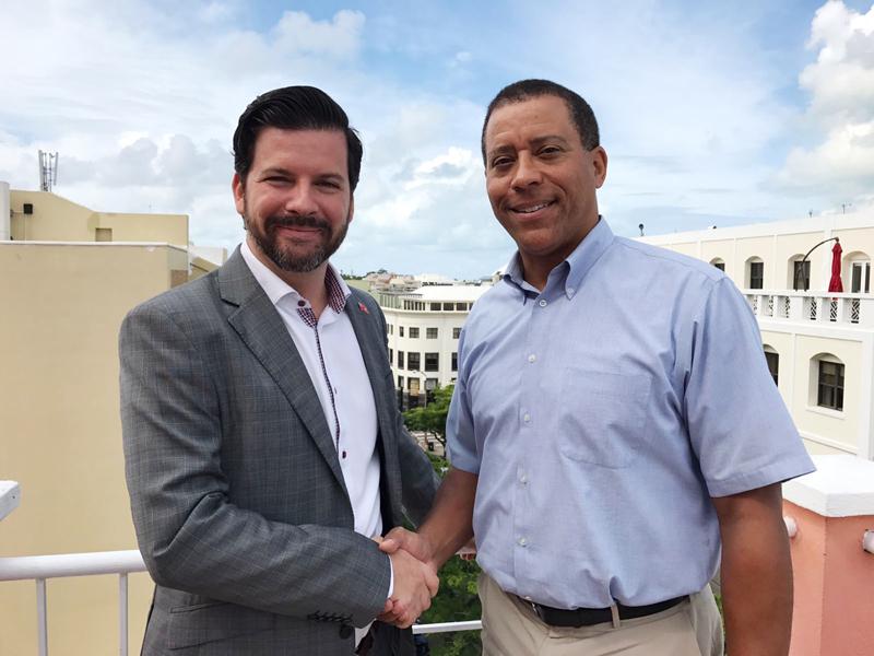 Michael Branco and Aaron Smith Bermuda Feb 9 2017