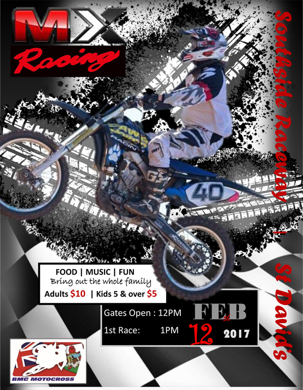 Motocross Bermuda 12 Feb 2017