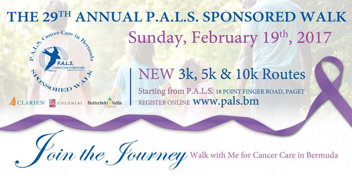 PALS walk Bermuda February 14 2017