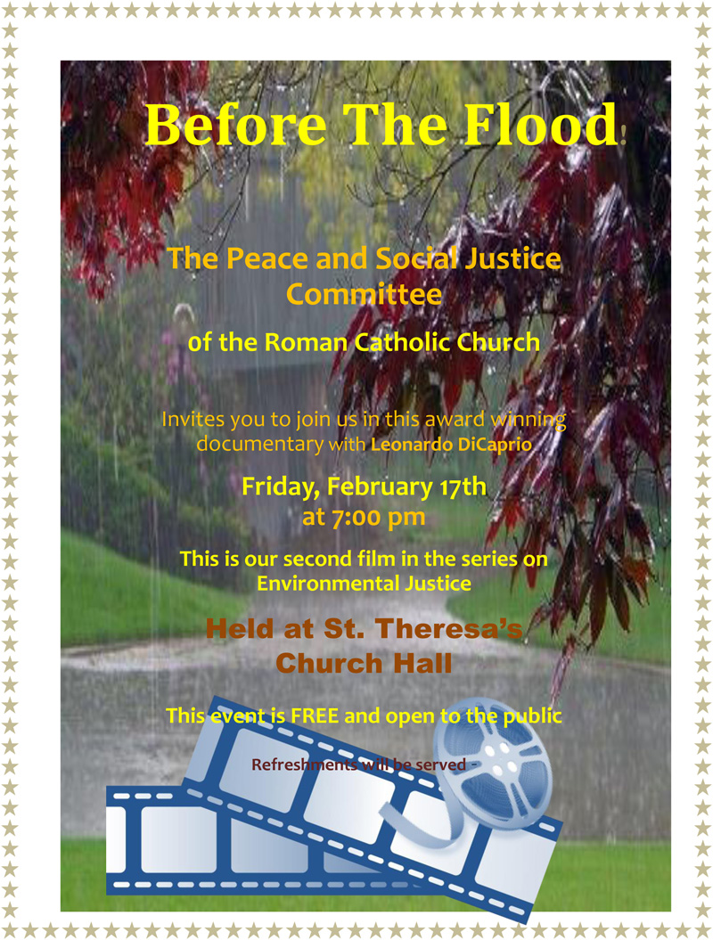 Peace and Social Justice Film Bermuda February 2017