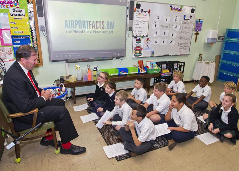 Premier Mount St Agnes Grade 3 Class Visit Bermuda Feb 23 2017 (1)