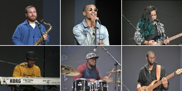 Six local Musicians Bermuda Feb 2 2017 TC