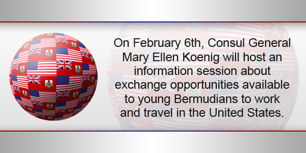 USA Bermuda Flags TC February 2 2017