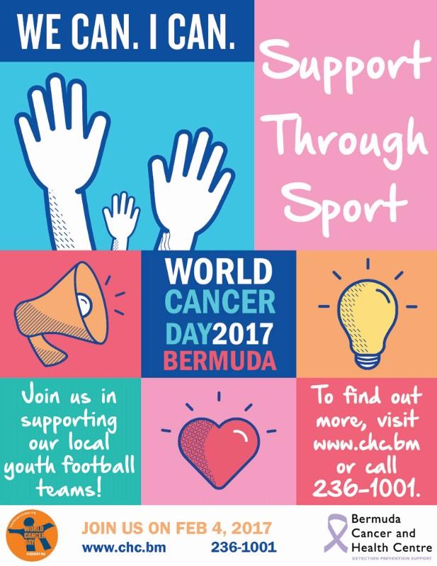 World Cancer Day Bermuda February 2017