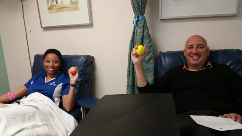 Argus Corporate Blood Drive Competition Bermuda March 2017