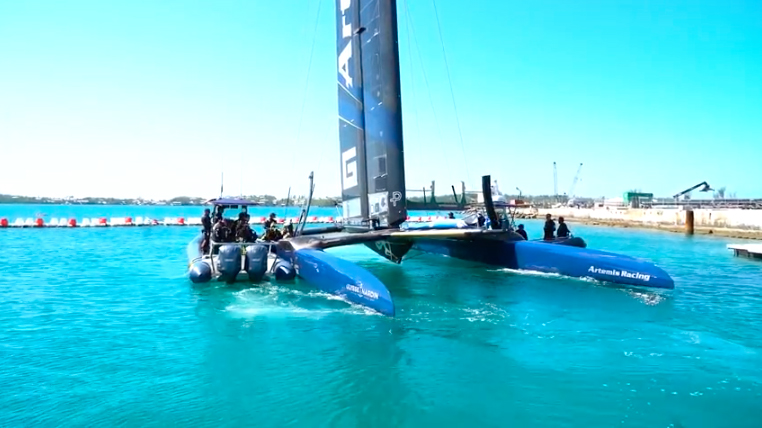 Artemis Racing Bermuda March 2017