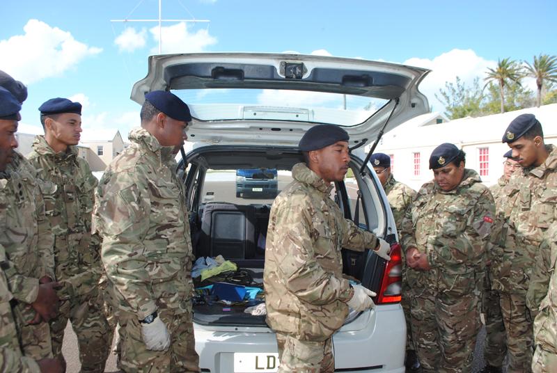 Bermuda Regiment AC35 Security Role March 2017 (3)