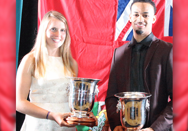 Bermuda's 2016 Sports Awards Winners March 30 2017