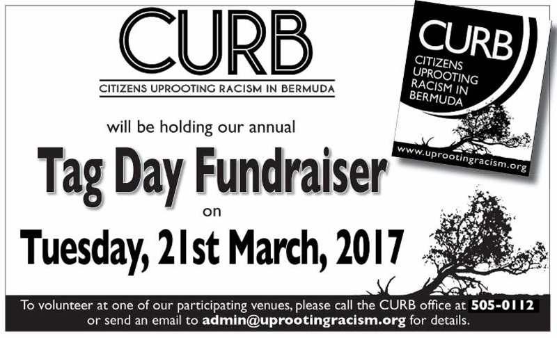 CURB Tag Day Fundraiser Bermuda March 2017