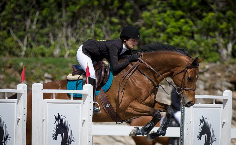 FEI WJC Round 2 Elizabeth Madeiros on Mr Bentley Bermuda March 4 2017
