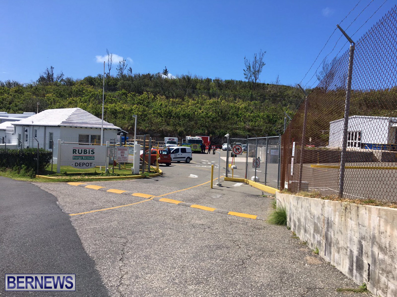 Fire Service at Rubis Ferry Reach Bermuda March 28 2017 (1)
