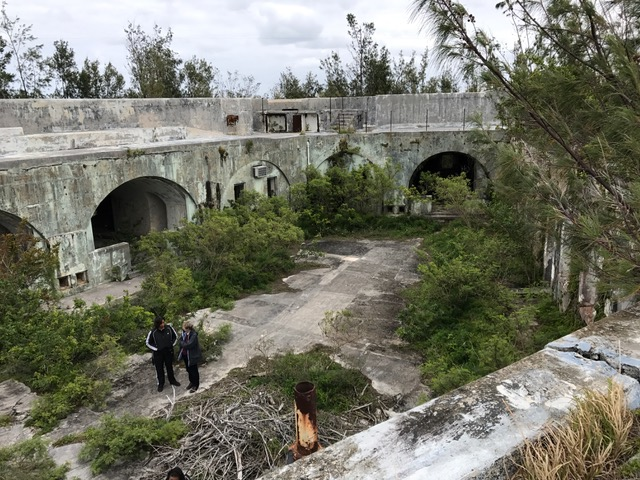 Fort Cunningham and Paget Island Bermuda March 2017 (2)
