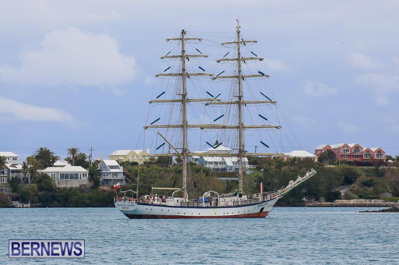 Fryderyk Chopin Tall Ship Bermuda, March 27 2017-1